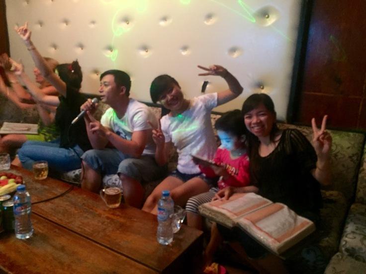 Karaoke mit den Vietnamesen